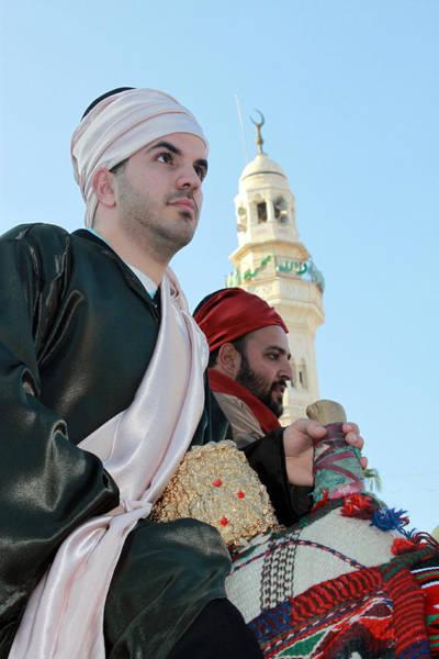 Manger Photograph - Magi At Manger Square In Bethlehem by Munir Alawi
