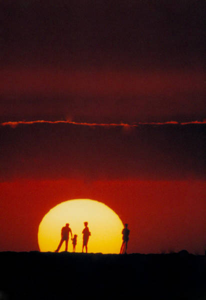 Magic Island Sunset Art Print