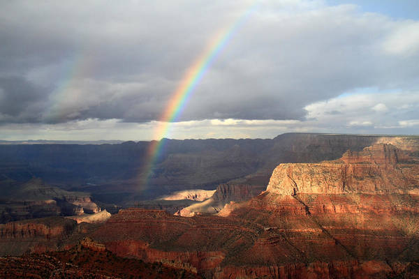 Photograph - Magical Rainbow In The Grand Canyon by Pierre Leclerc Photography