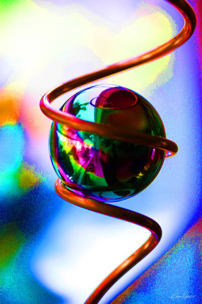 Photograph - Magical Sphere by Diana Haronis