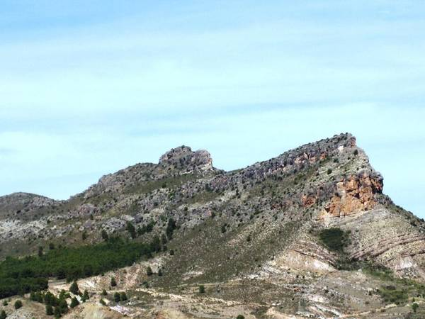 Photograph - Magnificent Mountain View Panorama Close Up Leaving Zaragoza In Spain by John Shiron
