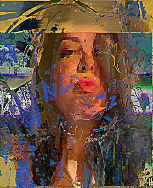 Wall Art - Mixed Media - Magnolia 12 by Noredin Morgan