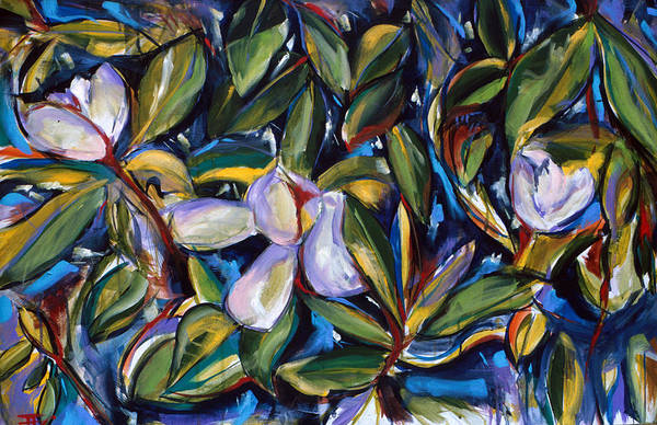 Painting - Magnolia by John Jr Gholson