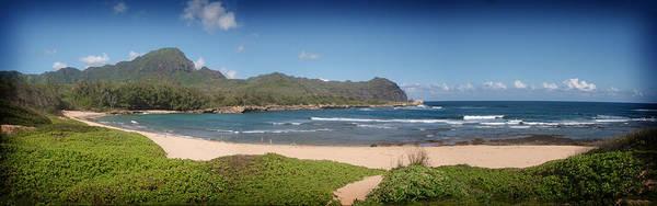 Mahaulepu Beach Photograph - Mahaulepu Beach Kauai by Peggy Zachariou