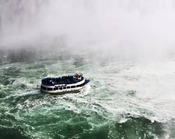 The Maid Photograph - Maid Of The Mist At Niagara Falls by Vicki Jauron