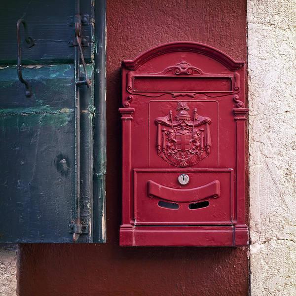 Window Box Photograph - Mailbox by Joana Kruse