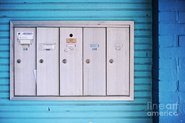 Mailbox Photograph - Mailboxes by HD Connelly