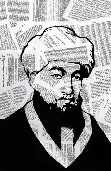 Wall Art - Painting - Maimonides by Anshie Kagan