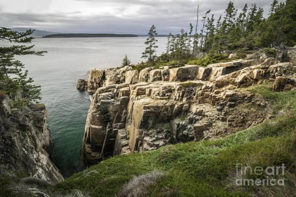 Photograph - Maine Coastline II by David Waldrop