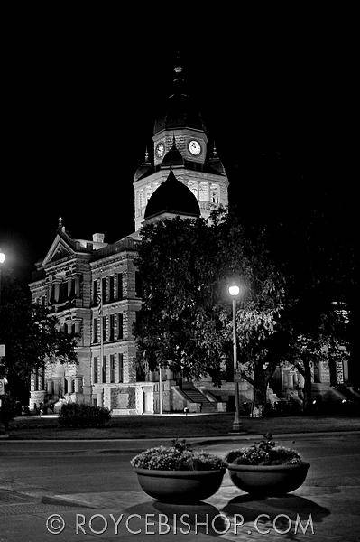 Photograph - Majestic Courthouse by Royce Bishop