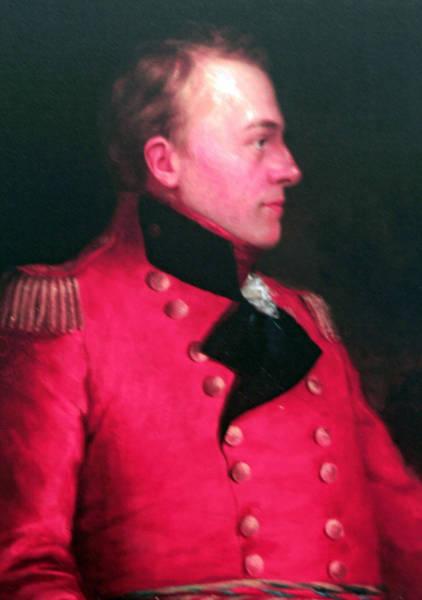 Photograph - Major General Sir Iasaak Brock by Cyryn Fyrcyd