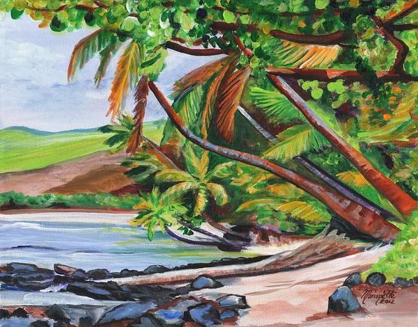 Painting - Makaweli Landscape by Marionette Taboniar