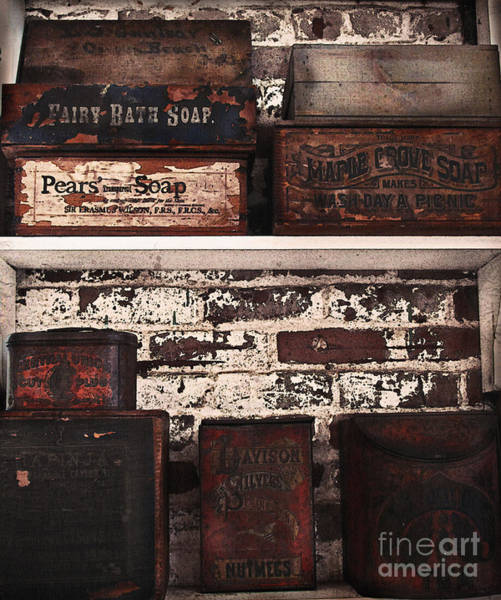 Tin Box Photograph - Makes Wash Day A Picnic by Colleen Kammerer