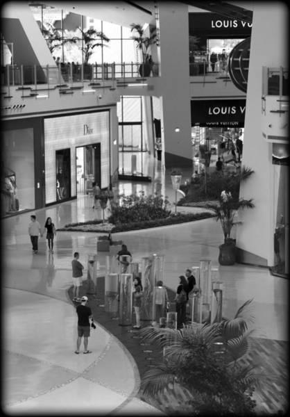 Wall Art - Photograph - Mall Life by Ricky Barnard