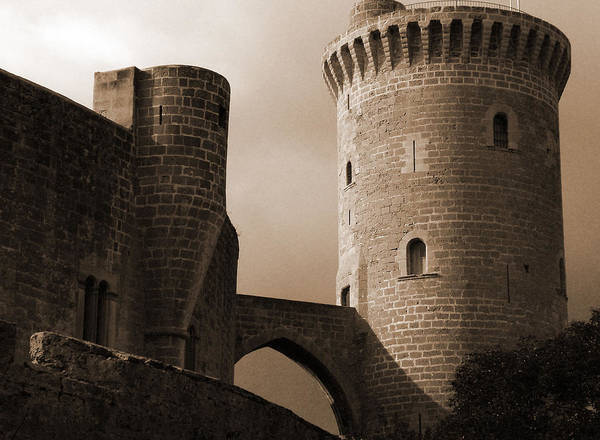 Photograph - Mallorca's Castle by Donna Corless