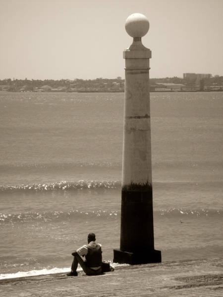Photograph - Man And Sea by Roberto Alamino