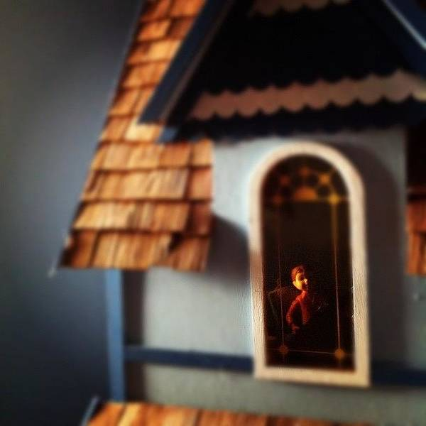 Creation Wall Art - Photograph - Man Inside The Dollhouse by Constant Creations