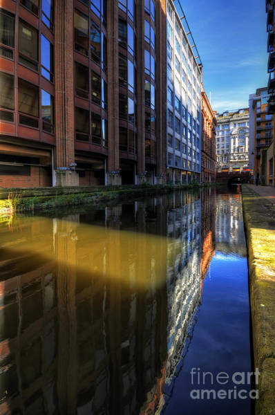 Greater Manchester Wall Art - Photograph - Manchester Reflections by Jason Connolly