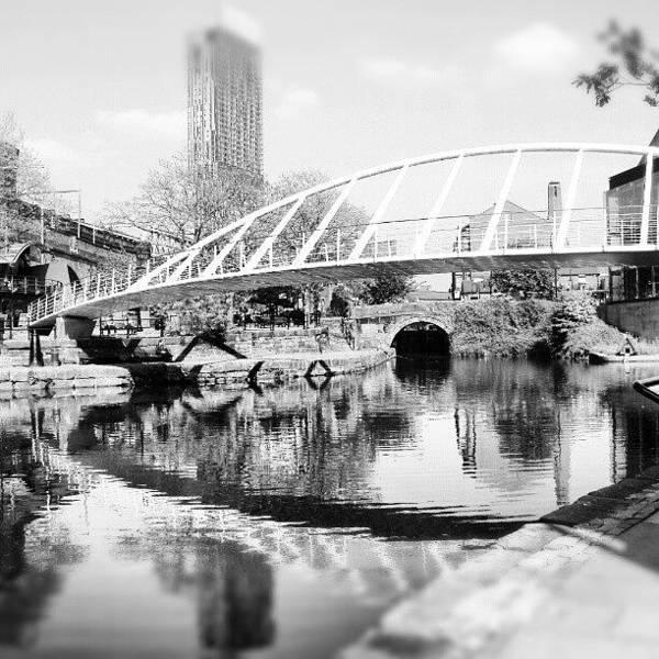 Road Photograph - #manchestercanal #manchester #city by Abdelrahman Alawwad