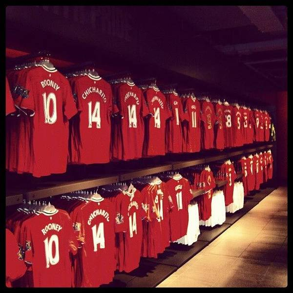 Sports Wall Art - Photograph - #manchesterunited #manunited #megastore by Abdelrahman Alawwad