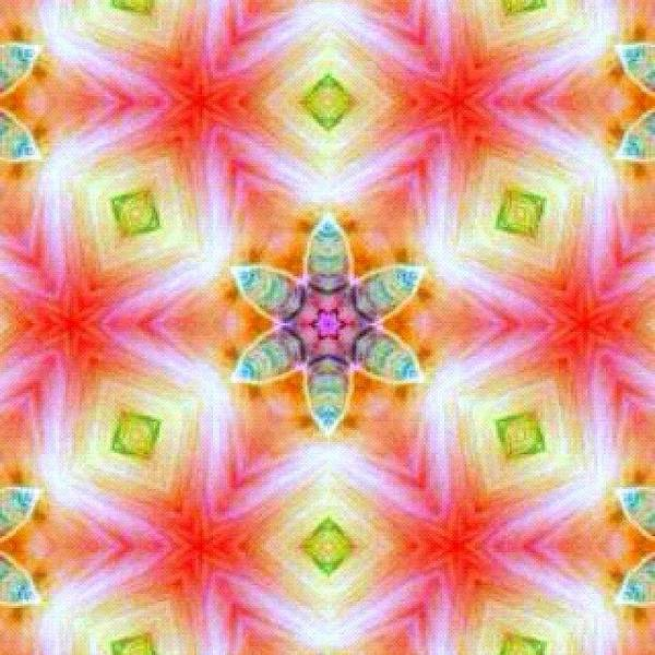 Fractal Wall Art - Photograph - #mandala #fractalart #picture On by Pixie Copley