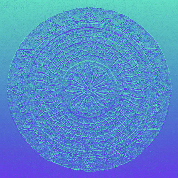 Digital Art - Mandala Meditation 2 V1 by Margaret Denny