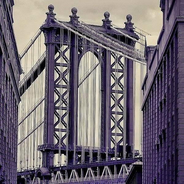 Wall Art - Photograph - Manhattan Bridge - Ny by Joel Lopez