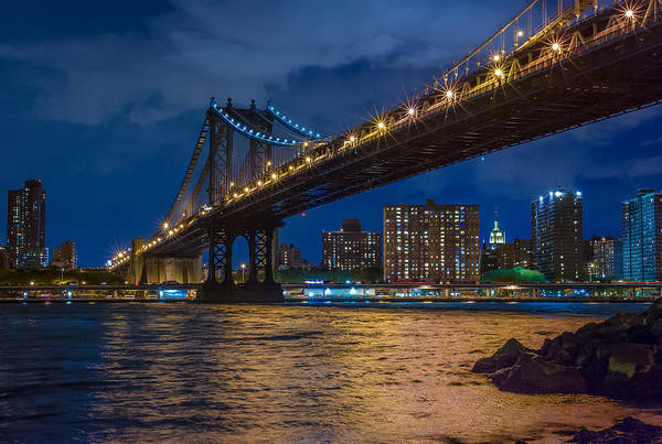 Photograph - Manhattan Bridge by Steve Zimic