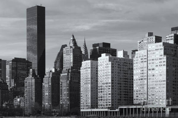 Roosevelt Island Wall Art - Photograph - Manhattan East Side II by Clarence Holmes