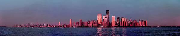 Photograph - Manhattan In Pink by S Paul Sahm