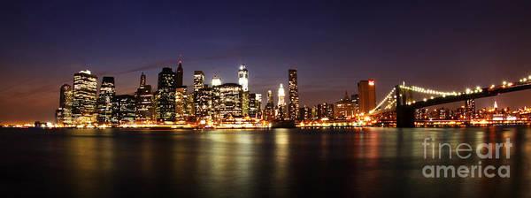 Wall Art - Photograph - Manhattan Panorama by Andrew Paranavitana