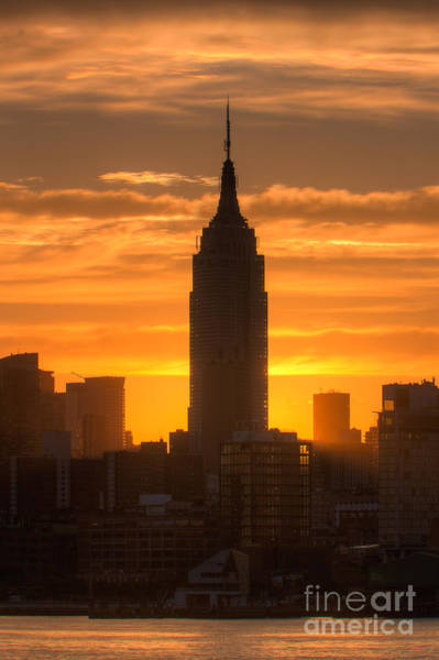 Photograph - Manhattan Sunrise II by Clarence Holmes