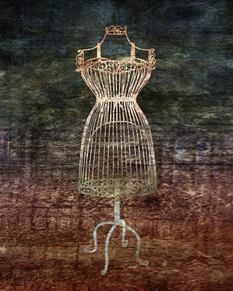 Mannequin Digital Art - Mannequin De Fil by Lauren Goia