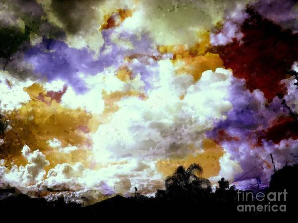 Wall Art - Photograph - Many Broken Pieces In The Sky by Ben Geiger