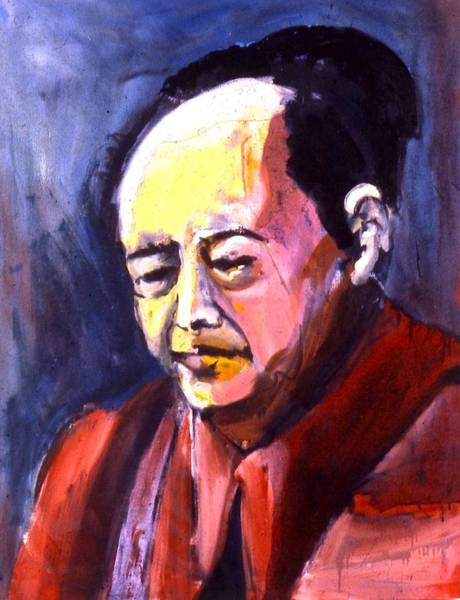 Painting - Mao by Les Leffingwell