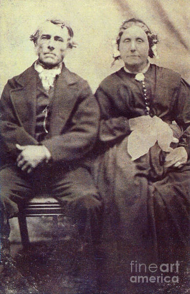 Photograph - Margaret And George Orme by Donna L Munro