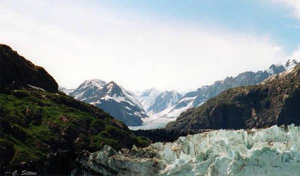 Margerie Glacier Art Print