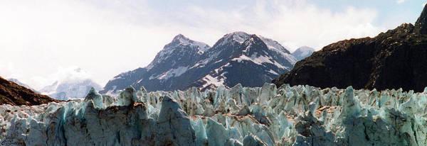 Photograph - Margerie Glacier View by C Sitton