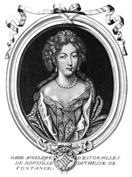 Mistress Photograph - Marie-ang�lique De Rousille by Granger