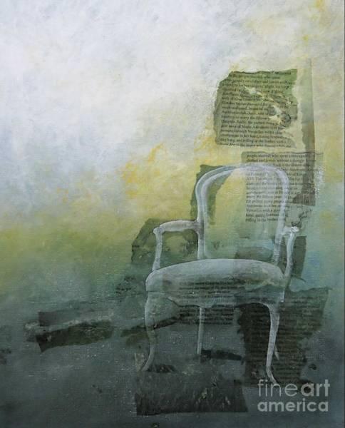 Chair Mixed Media - Marie Antoinette by Paul OBrien