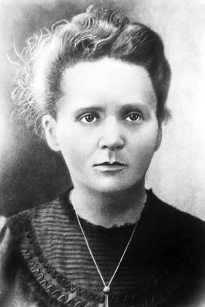Wall Art - Photograph - Marie Curie, Polish-french Physicist by Ria Novosti