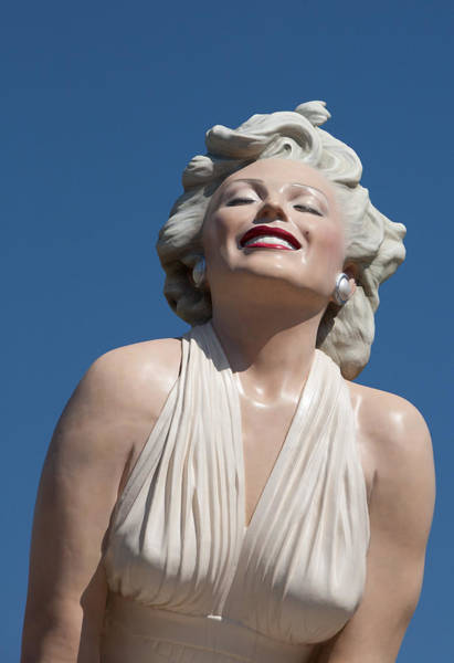 Marilyn In The Sun Art Print