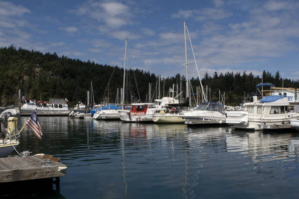 Photograph - Marina At Deer Harbor by Lorraine Devon Wilke