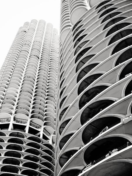Photograph - Marina City by Laura Kinker