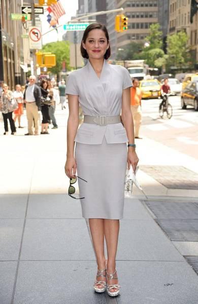 Marion Cotillard Wall Art - Photograph - Marion Cotillard Wearing A Dior Suit by Everett