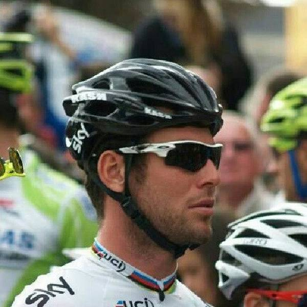 Beer Wall Art - Photograph - #markcavendish #cav At The Start Of by Robin Beer