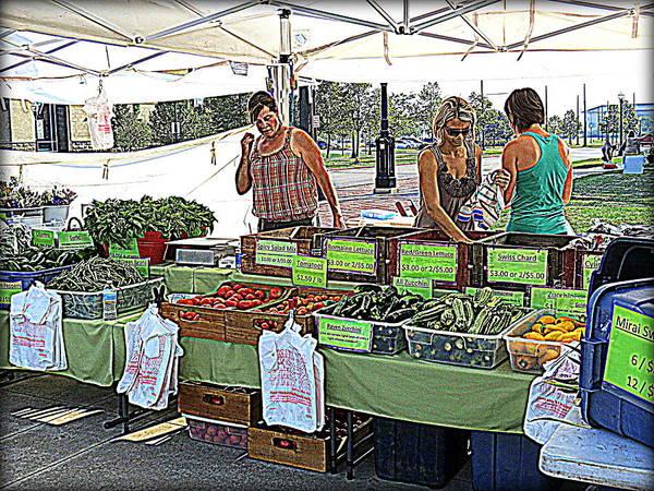Photograph - Market Day by Kay Novy