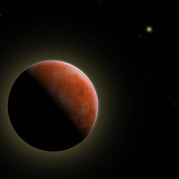 Mars - The Red Planet Art Print