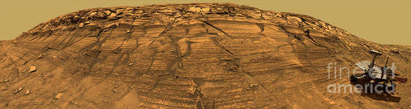 Photograph - Mars Exploration Rover Opportunity by Stocktrek Images