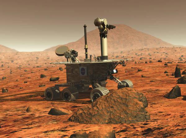 Jet Propulsion Laboratory Photograph - Mars Spirit Rover by Nasa